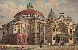 Circus Busch (Berlin) Verlag: Raphael Tuck & Sons, Public domain, via Wikimedia Commons