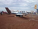 Cirrus Vision SF50 mock-up on display at the 2015 Australian International Airshow.jpg
