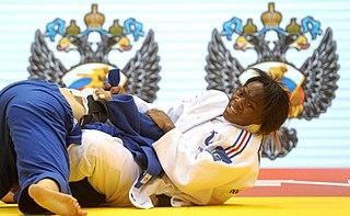 Clarisse Agbegnenou French judoka