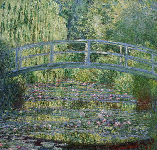 File:Claude Monet - Water Lilies and Japanese Bridge.jpg