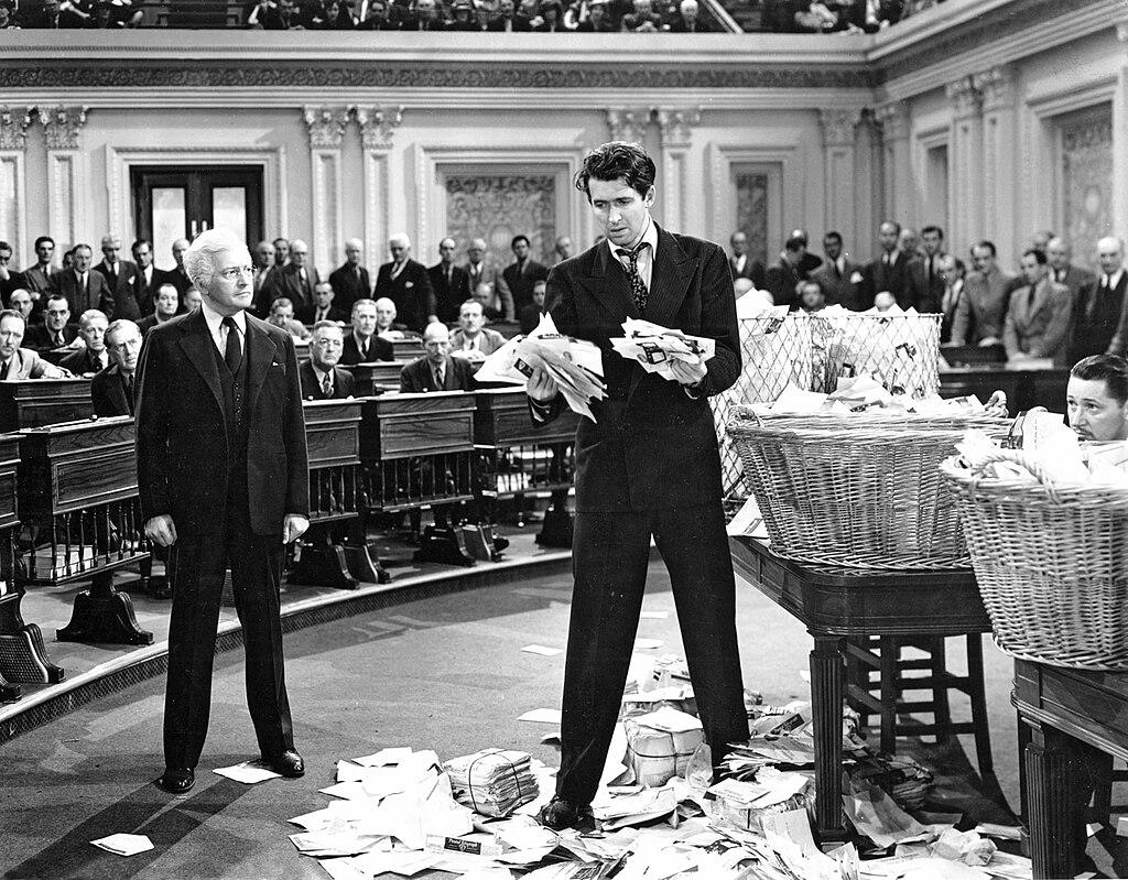 Claude Rains and James Stewart in Mr. Smith Goes to Washington (1939) .jpg