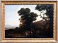 Claude lorrain, paesaggio con figure che guadano un ruscello, 1636-37.jpg