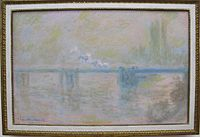 Claude monet, charing cross bridge a londra, 1902 ca..JPG