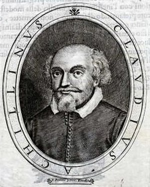 Claudio Achillini - Engraving by L Pecini Vene, in Le glorie dei ignoti