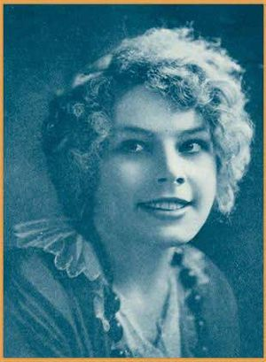 Cleo Ridgely - Publicity photo of Ridgely from Stars of the Photoplay (1916)