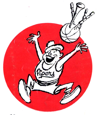 Cleveland Pipers - Image: Cleveland Pipers logo