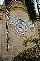 Clock Tower of Grand Master's Palace in Centre of Old Walled City of Valletta. Malta, Mediterranean Sea.jpg