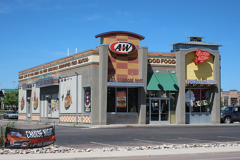 File:Co-branded A&W and Long John Silver's in Gillette, Wyoming.jpg