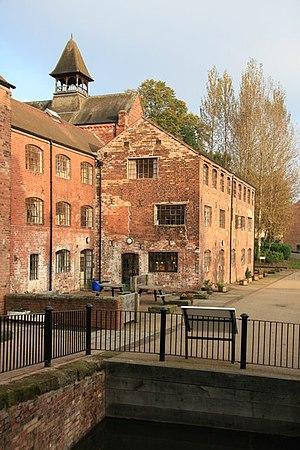 Coalport porcelain - Earliest part of the original works at Coalport, now housing a café and hostel