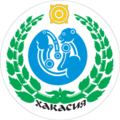 Coat of Arms of Khakassia (1992).png