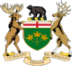 Coat of arms of Ontario.