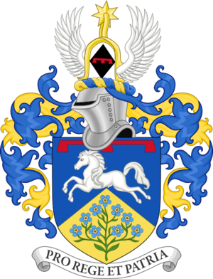Peter Phillips - Image: Coat of Arms of Peter Phillips