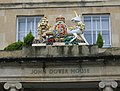 Coat of Arms on John Dower House - geograph.org.uk - 288745.jpg