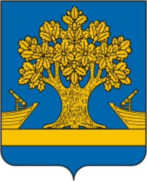 Dubovsky District, Volgograd Oblast - Image: Coat of arms of Dubovsky district 2007 01