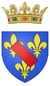 Coat of arms of the Prince of Condé.png