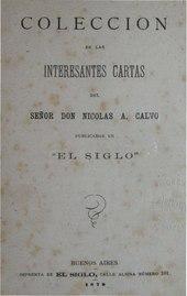 Coleccion de las interesantes cartas de Nicolas A. Calvo.pdf
