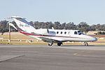 Colin Joss & Co (VH-JSO) Cessna 525 Citation CJ1 taxiing at Wagga Wagga Airport.jpg