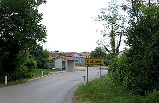 Coljava Place in Slovene Littoral, Slovenia