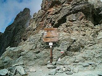 Battle of Ticinus - Col de la Traversette, probably the high point of Hannibal's crossing.