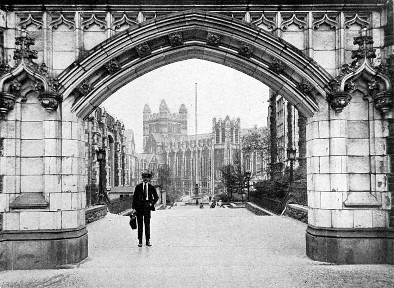 File:Collier's 1921 New York College of the City of - Amsterdam Avenue Gate.jpg