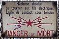 Colmar, gare, defense de toucher, 1.jpeg