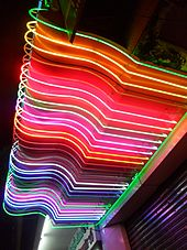 Neon sign - Wikipedia