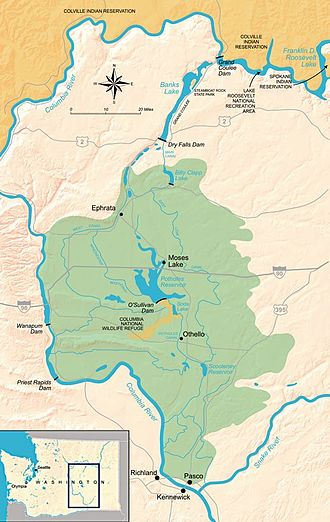 Columbia Basin Project - The Columbia Basin Irrigation Project
