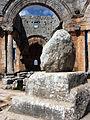 Column remains, Saint Simeon Stylites Basilica, near Aleppo, Syria.jpg