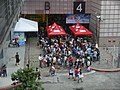 Comic Exhibition visitors entering Entrance 4 20140809.jpg