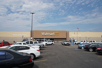 Hunt County, Texas - Walmart location in Commerce