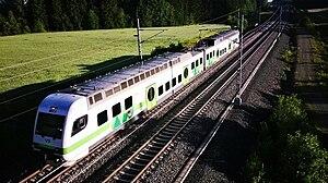 VR Class Sm4 - Sm4  on the Kerava-Lahti railway line