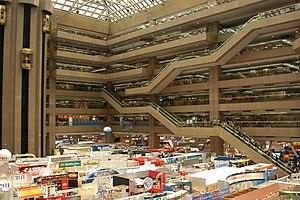Taipei World Trade Center - The exhibition hall in Taipei World Trade Center