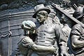 Confederate Monument - W frieze detail - Arlington National Cemetery - 2011.JPG