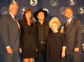 Congresswoman Bono with Congressman Steny Hoyer, recording artists Clint Black and Brenda Lee and Recording Academy's President Neil Portnow.png