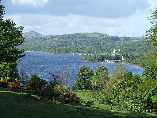 Coniston Water from Monk Coniston - geograph.org.uk - 1739984
