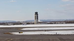 Lehigh Valley International Airport - Air Traffic Control Tower at KABE