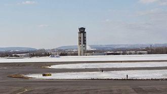 Lehigh Valley International Airport - Air Traffic Control Tower at KABE