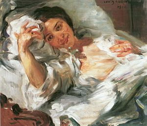 Lovis Corinth - Morning Sunshine, 1910, Hessian State Museum, Darmstadt