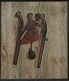 Cornelius Norbertus Gijsbrechts - Trompe l'Oeil with Pistols - KMS3062 - Statens Museum for Kunst.jpg