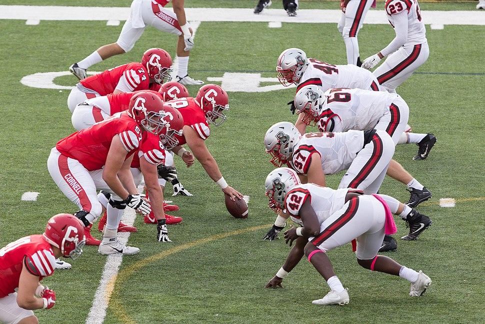 Cornell vs Brown University football game 2017