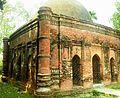 Corner view of Goaldi mosque, Sonargaon, Narayanganj.jpg