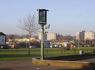 Southcote, Berkshire - Image: Coronation Square, Southcote