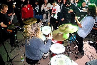 Corrosion of Conformity - Animosity lineup 2010 secret house show, Raleigh, NC