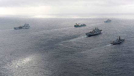 Response Force Task Group in the Mediterranean Sea during Cougar 12