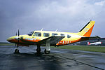 Court Line Piper PA-31 Navajo at Le Bourget Airport.jpg