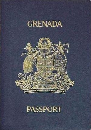 Grenadian passport - Image: Cover of Grenadian Passport