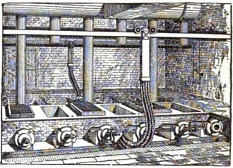 Smelting - Cowles Syndicate of Ohio in Stoke-upon-Trent England, late 1880s. British Aluminium used the process of Paul Héroult about this time.