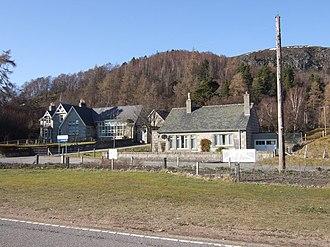 Crathie, Aberdeenshire - Crathie School in 2007