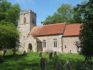 Creeting St Peter village and civil parish in Mid Suffolk, Suffolk, England