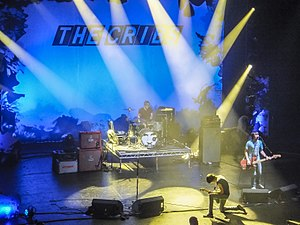 The Cribs - The Cribs performing live. Apollo Theatre, Manchester, 2012